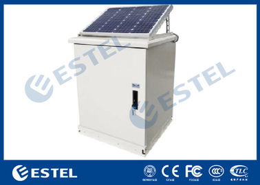 Floor Mount Solar RAL 7035 Outdoor Electrical Cabinet