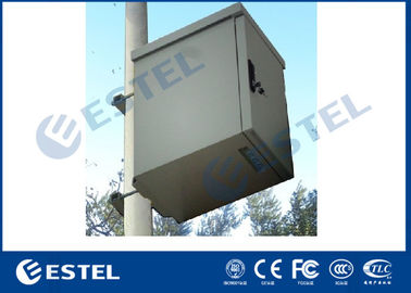 Galvanized Steel Padlock Support IP55 Outdoor Telecom Cabinet